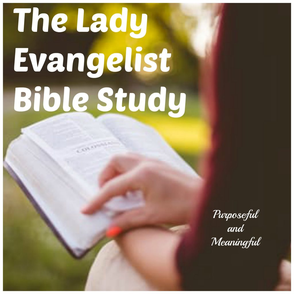 The Lady Evangelist Bible Study