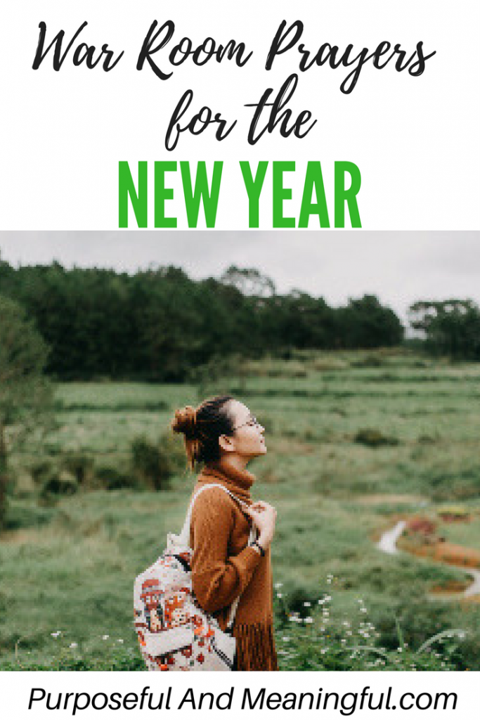 War Room Prayers for the New Year – P&M