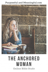 The Anchored Woman Bible Study